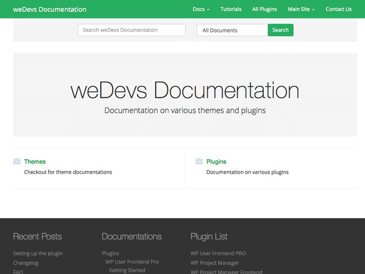WeDocs Free Documentation WordPress Theme Freebies Bootstrap CSS   End User  Documentation Template  End User Documentation Template