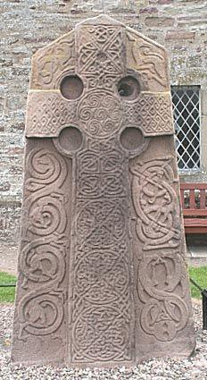Aberlemno Pictish Kirkyard Stone, Aberlemno, Angus, Scotland.