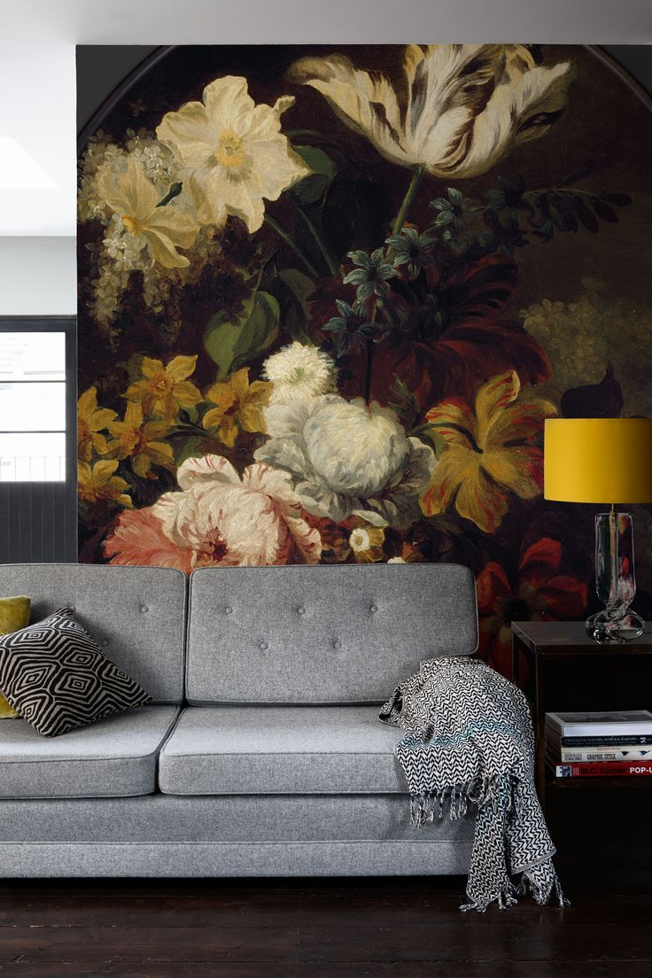 1000 ideas about flower mural on pinterest murals wall for Mural of flowers