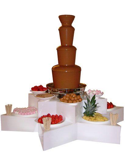 fountains | Chocolate fountain hire, Chocolate fountains - Hot Chocolates