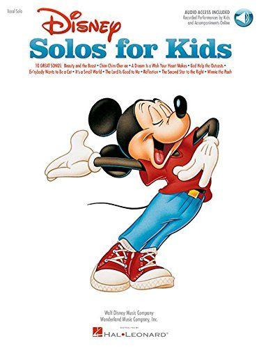 Disney Solos for Kids (Vocal Collection) with online audio @ niftywarehouse.com #NiftyWarehouse #Disney #DisneyMovies #Animated #Film #DisneyFilms #DisneyCartoons #Kids #Cartoons