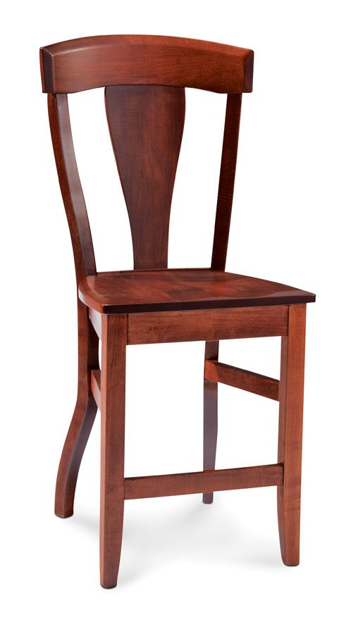 Brookfield Stationary Barstool From Simply Amish Furniture