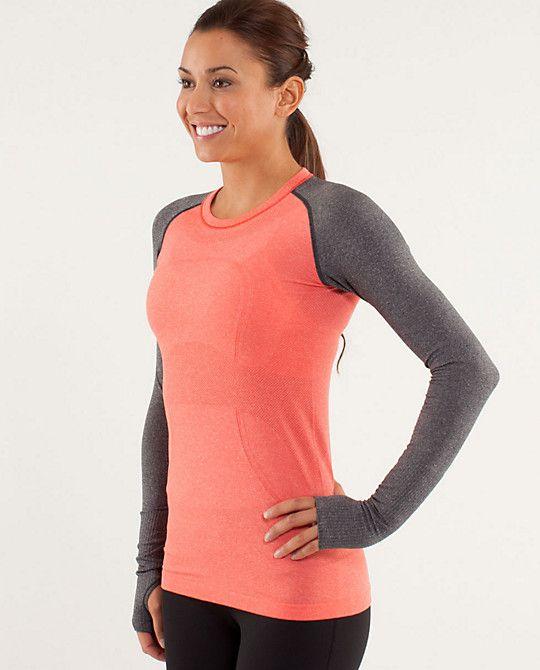 run:swiftly tech long sleeve   women's tops   lululemon athletica.