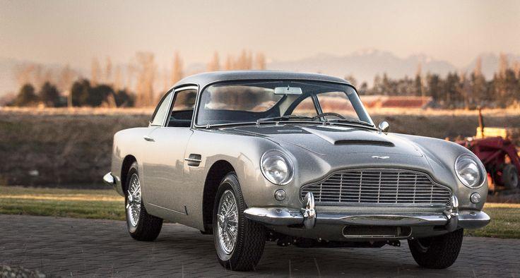 This 1964 Aston Martin DB5 Sports Saloon has an estimated price: $800,000 to $1,100,000