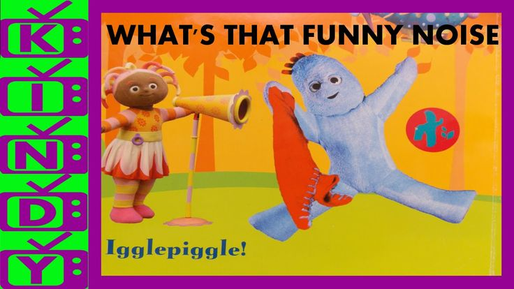 In The Night Garden Book - Funny Noises - Igglepiggle, Upsy Daisy, Makka...