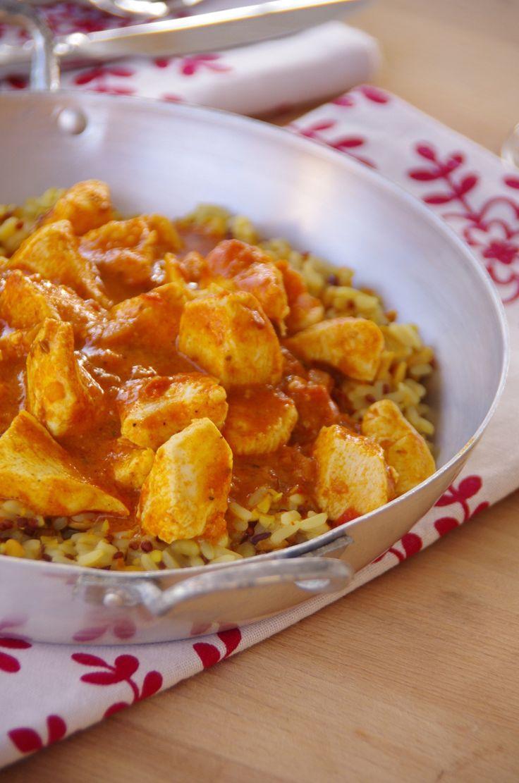 J'ai toujours adoré la cuisine Indienne, je pense que cela reste ma cuisine préférée et pourtant nous sommes mal lottis vers chez moi... Peu voir pas de restaurant Indiens, dommage! Alors du coup le faire maison c'est le top! J'ai fait le pleins d'épices...