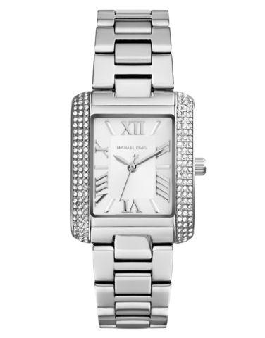 Michael Kors Watch - Ladies Mini Emery Polished Steel Watch - MK3289 – Salera's Jewellmasters #michaelkors @michaelkors