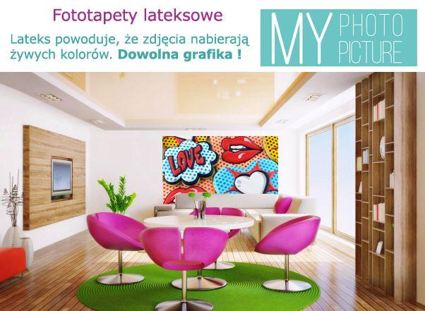 #Fototapeta #lateksowa gwarantuje zachowanie intensywnych barw #obrazu i #fotografii.