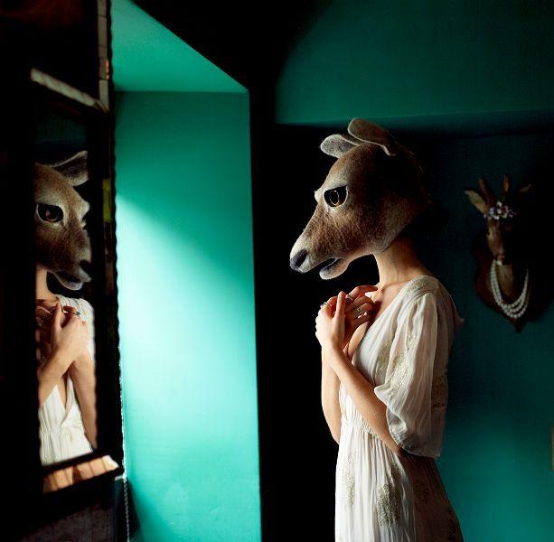 http://www.gladyspaulus.co.uk/gallery-2/  Beautiful art form masks made of felt