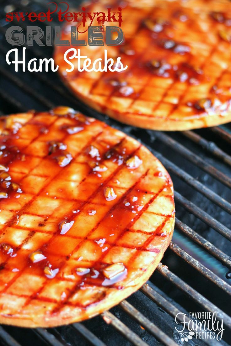What is a simple recipe using ham steak?