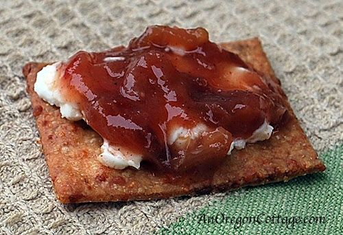 Spicy Rhubarb Chutney - An Oregon Cottage  If you're new to canning, this is a great recipe to start with – it's quick and easy.