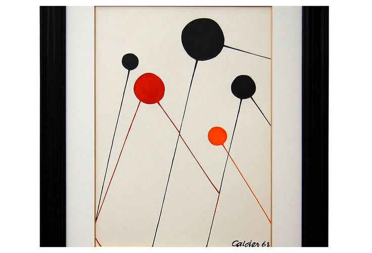 Alexander Calder, Bubbles | Standout Moments | One Kings Lane