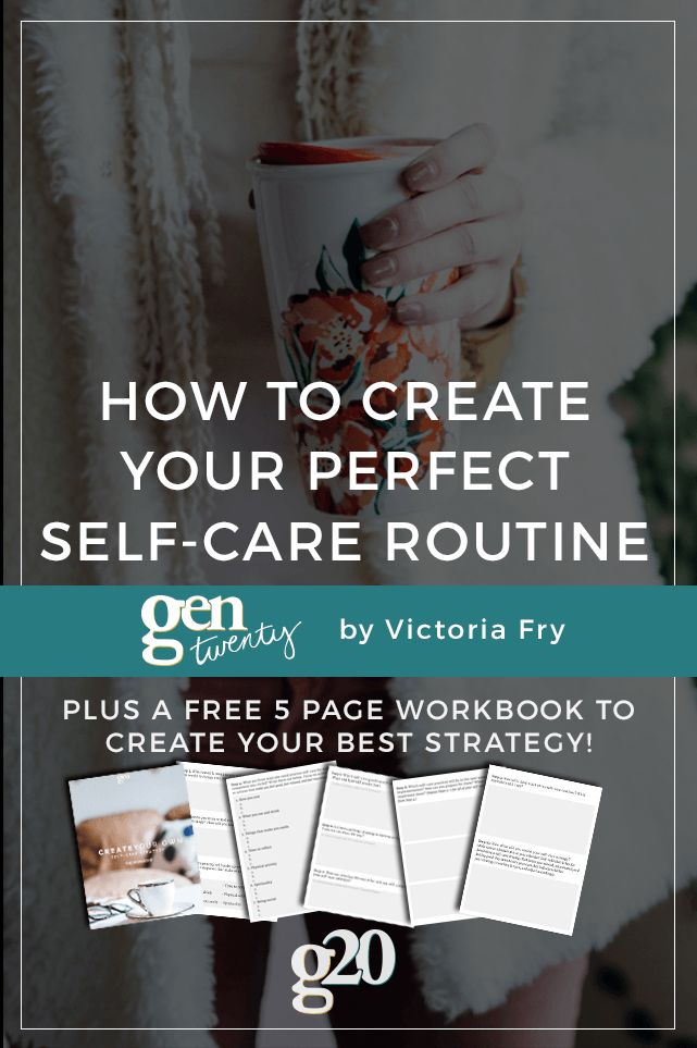 Self-care is more than just bubble baths (but those are nice, too). Here's how to create the perfect routine for YOU. (Plus a workbook to help you create your strategy!)