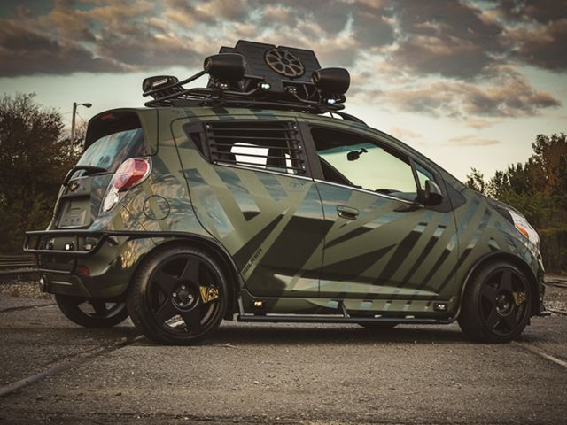 Chevy Spark by Enemy To Fashion                                                                                                                                                                                 More