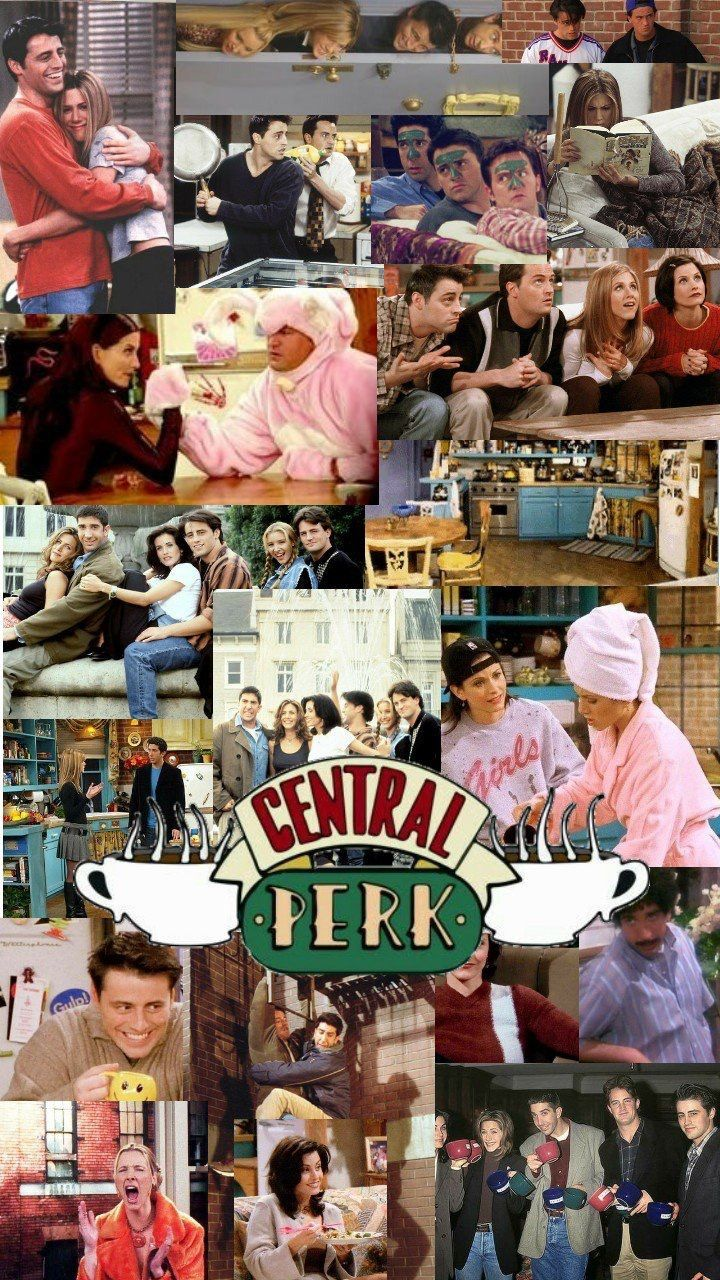 Friends Friends Wallpaper Friends Cast Friends Collage