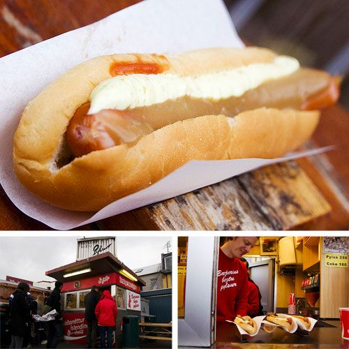 Best hot dogs in the world are in Iceland! --- Bill Clinton says so, and so do i!!!!