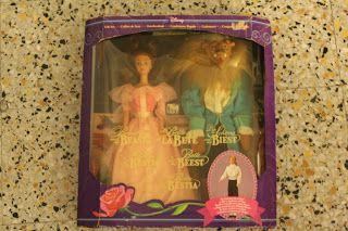 La Bella e la Bestia Mattel 1992 GiftSet