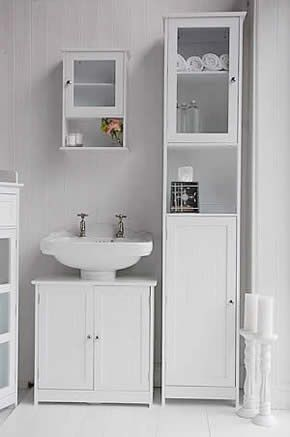 Tall Bathroom Cabinets Home Design Ideas For The Home