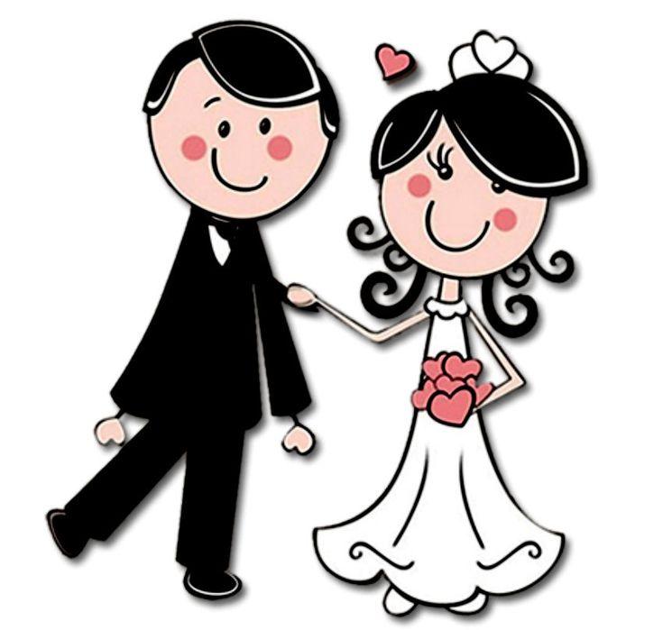 Картинка свадебные прикольные, рисунок простым