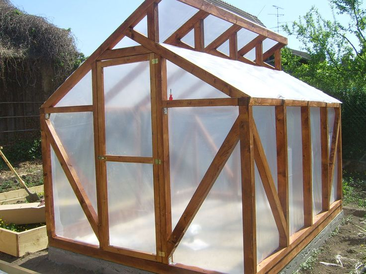 """The greenhouse built with our own blood, sweat and tears. It will soon be getting covered in Lexan so it will hold heat better and not get ripped apart with every storm that comes through. Hopefully we can really extend our growing season once that's been put on. It's going to cost around €600 to cover the whole thing."""