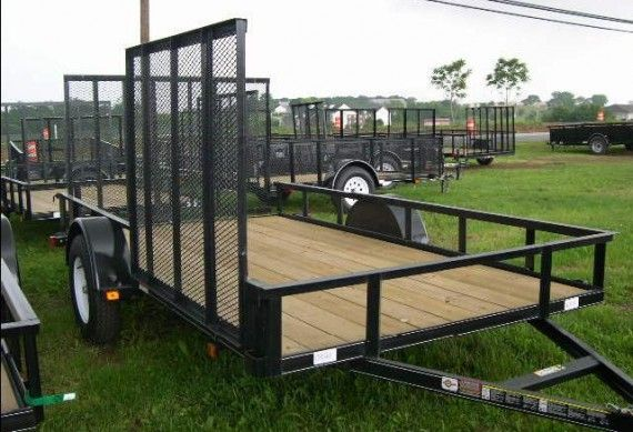 Carry-On 6.4 x 12 Landscape Utility Trailer – ATV Utility Trailer!