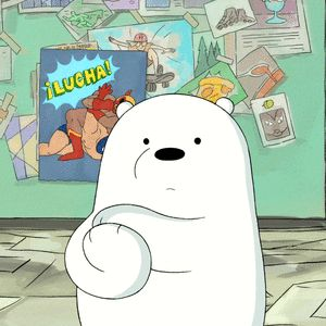 Ice Bear approves this message   Cartoon Network