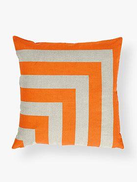 Corner Stripe Cushion