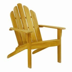 Kingsley Bate Teak Adirondack Chair with Optional Ottoman. Product in photo is from www.wellappointedhouse.com