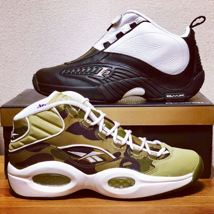 REEBOK CLASSIC QUESTION MID BAPE mitasneakers and ANSWER IV STEPOVER  アイバーソンのシグネイチャーモデル (_
