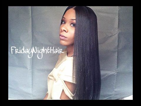Virgin Hair Wig Dupe: Friday Night Hair GLS26 Show and Tell - YouTube