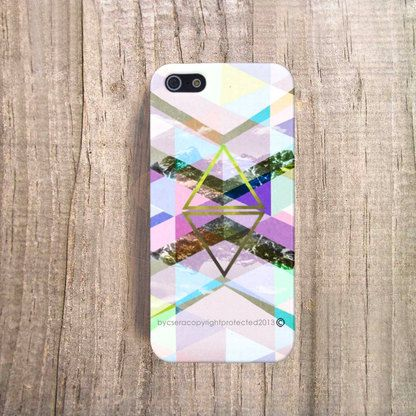 Geolime by csera iphone case. Made from 100% recycled plastic