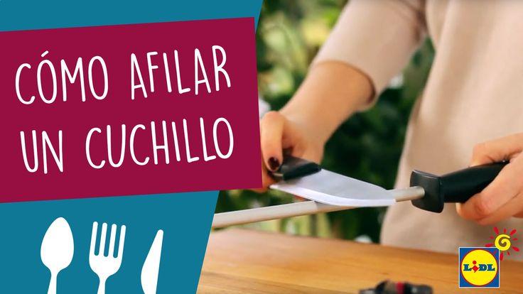 Afilar Cuchillos Trucos De Cocina Como Afilar Cuchillos Cuchillos Cocinas