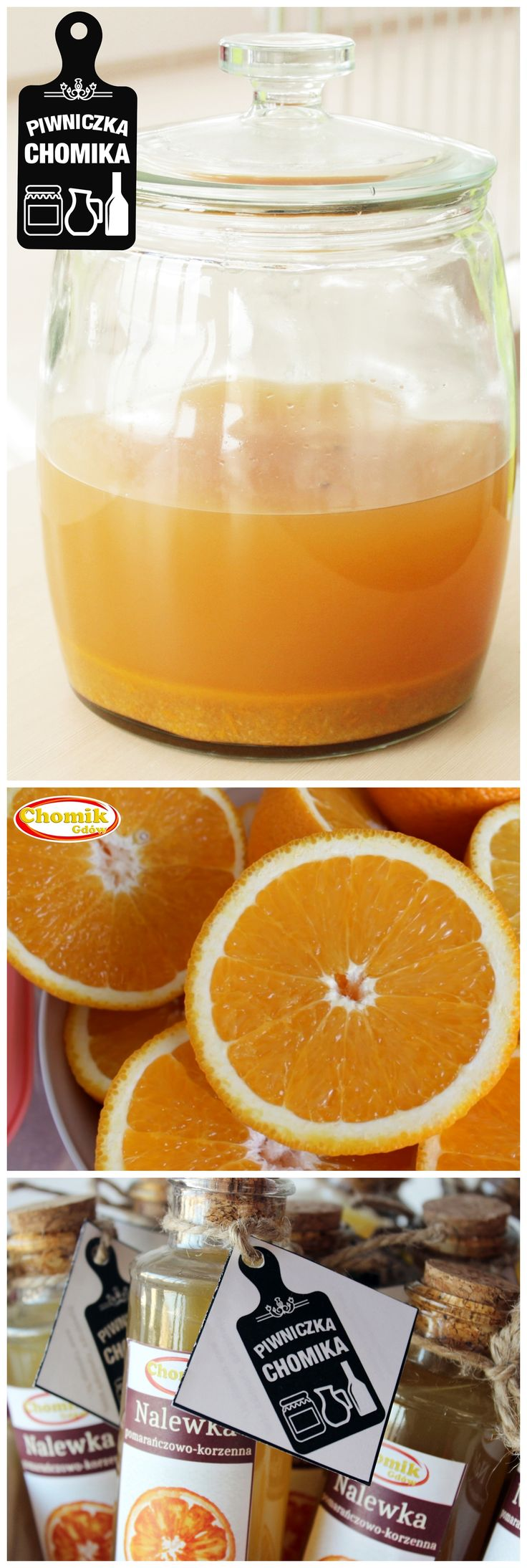 Orange cordial with spice