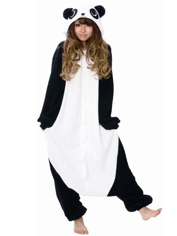 Panda kostume | Perfekt til temafesten | Dyrekostumer.dk