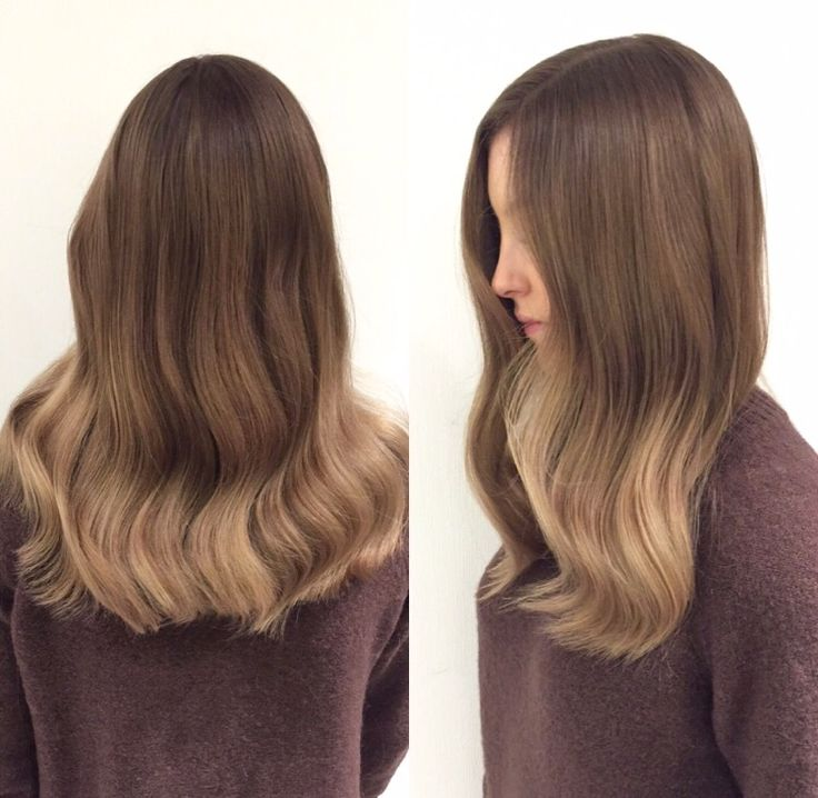 Exclusive ombrè  #wella #curls #hair #hairinspo #ombrè #ombre #brownhair #classy #babe