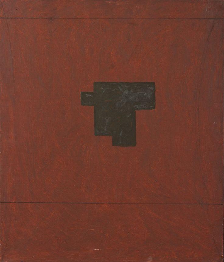 Jan-Kenneth Weckman: Talo, öljy, 65x55 cm - Hagelstam A131