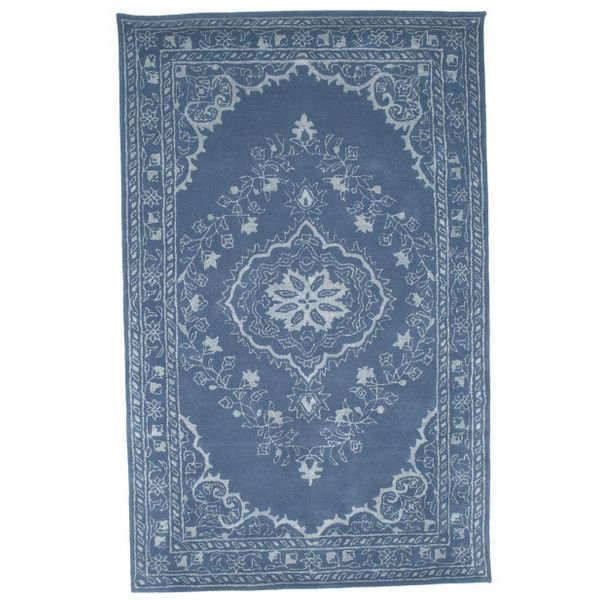 Made In India Hand Tufted Wool Area Rug 300 Liked On Polyvore