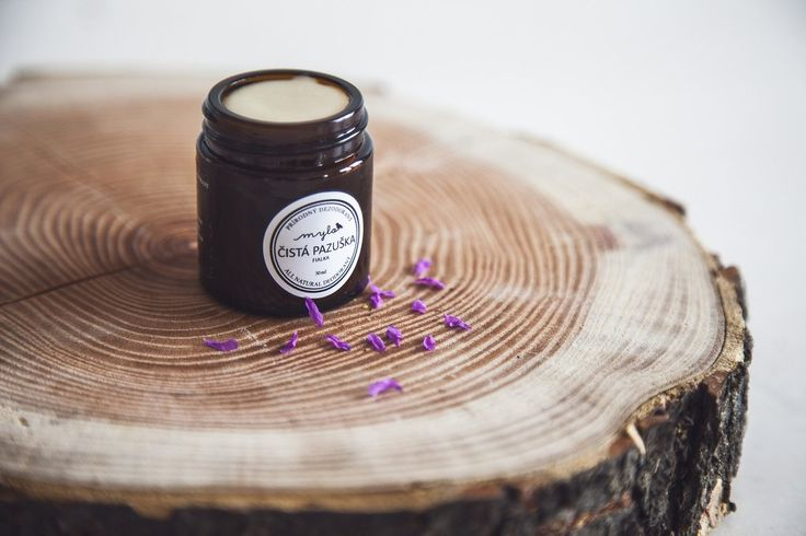 Natural deodorant without soda #natural #cosmetics #handmade #nosoda #mylo #hnstly