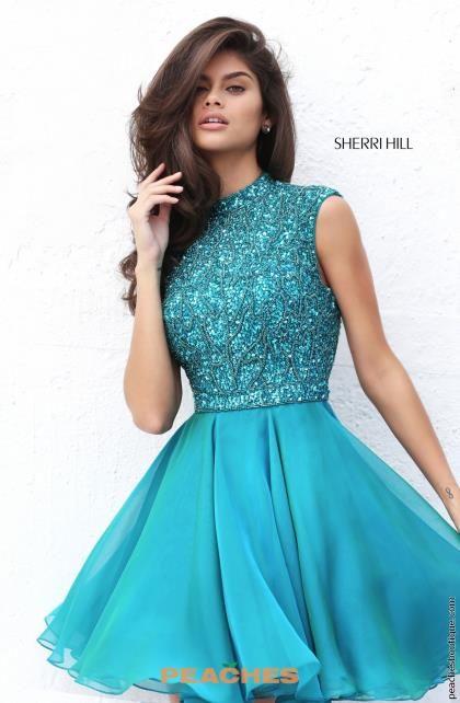 Sherri Hill Short Dress 50690