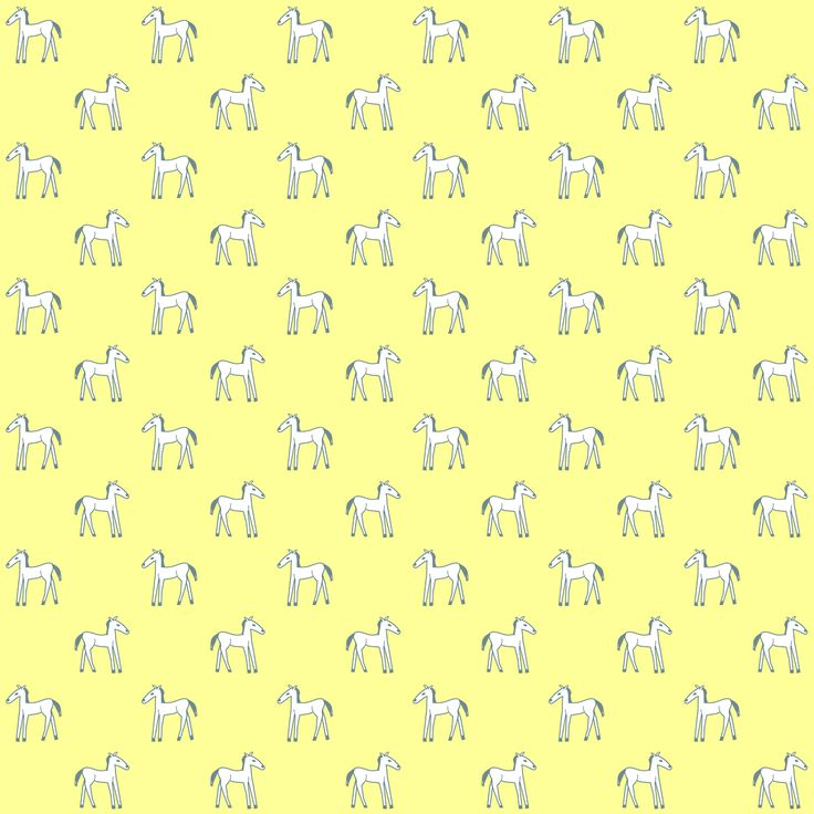FREE printable yellow-white #horse scrapbooking papers #kids #pony