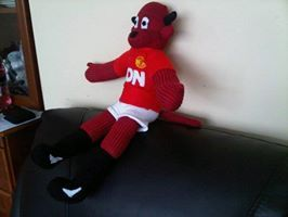 Fred the Red Devil - MUFC mascot