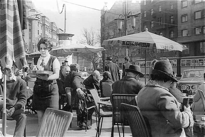 1970. Budapest, Károly körút (Tanács körút)