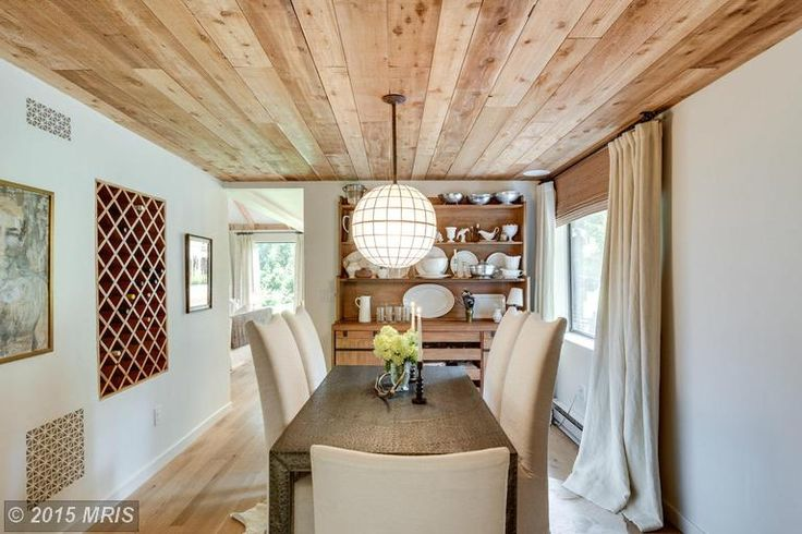 Designer Lauren Liess's house for sale in Virginia - http://hookedonhouses.net/2015/08/06/before-after-how-lauren-liess-updated-her-house-from-the-70s/