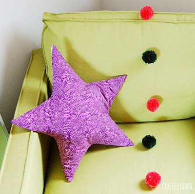 Tutorial: Cojin de estrella / Tutorial: Star pillow