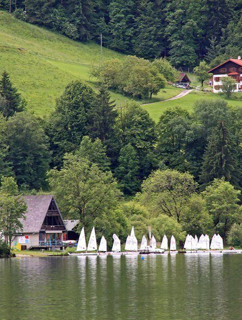 Am Alpsee, Allgäu, Bavaria, Germany