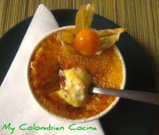 Muchas recetas de postres típicos de Colombia.