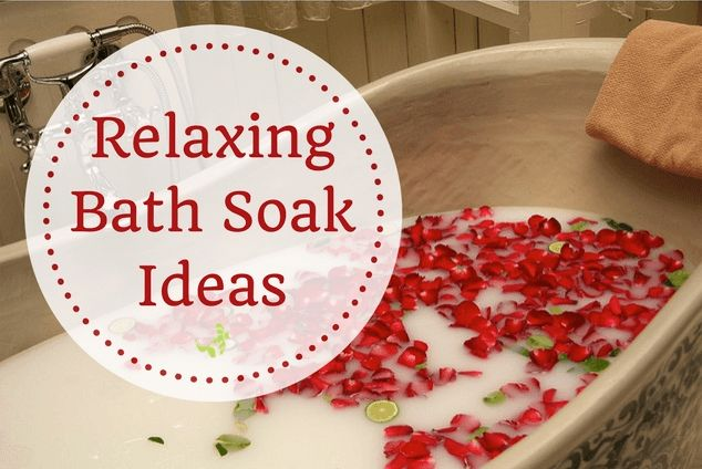 Relaxing Bath Soak Ideas There's something so curative about a relaxing bath soak. Add fragrant soap and candlelight and you've got a mat[..]