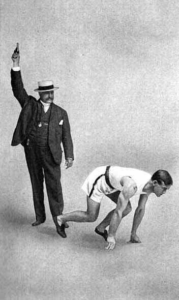 1904 official and champion Olympic sprinter