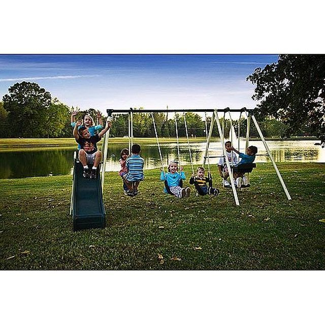 How to refurbish Metal Swing Set