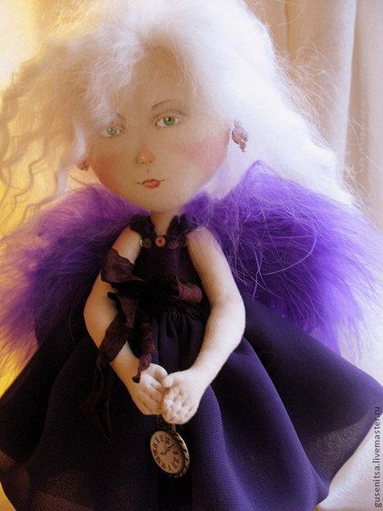 Коллекционные куклы ручной работы. My violet angel.. Анастасия Побережец…